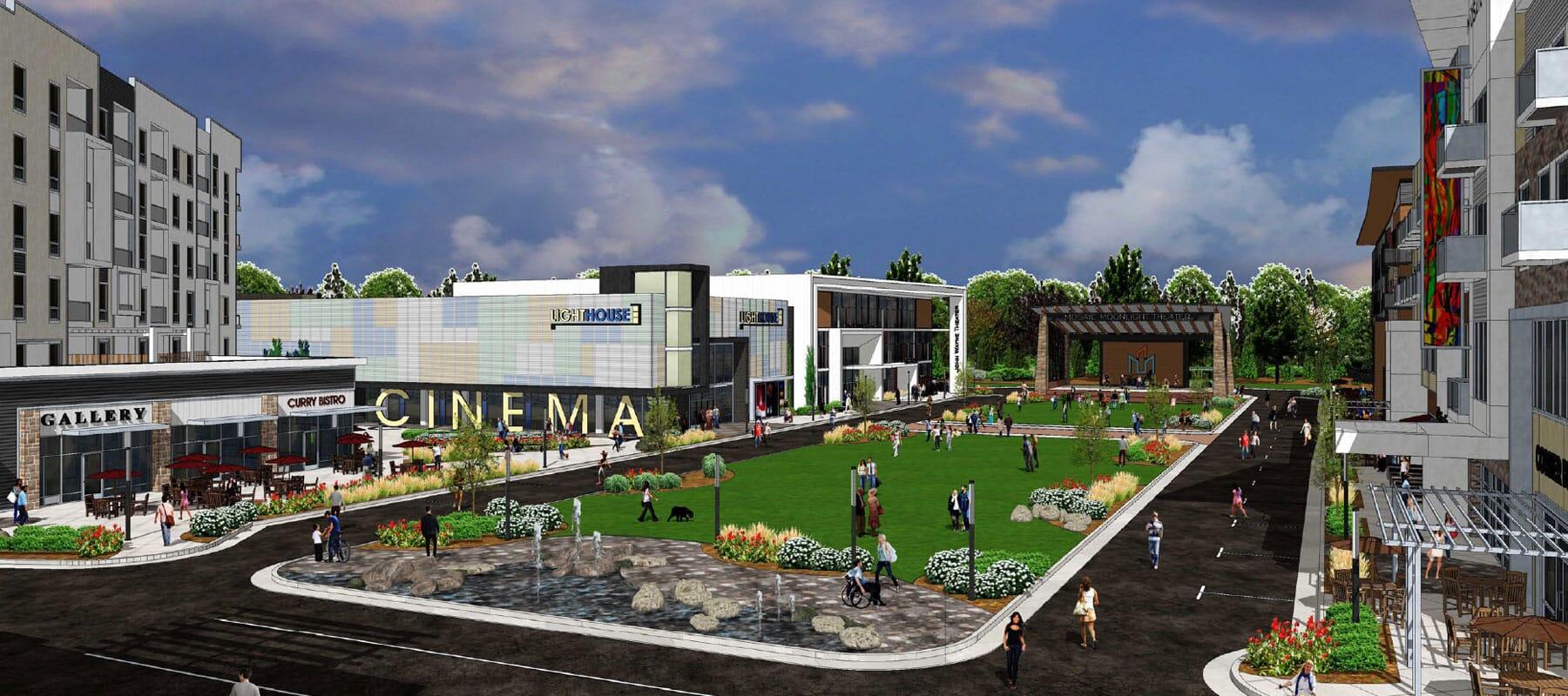 Mosaic Rendering Cinema